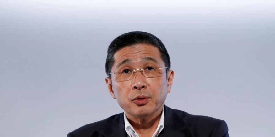 El CEO de Nissan, Hiroto Saikawa, atiende a la prensa en Yokohama (imagen de archivo).