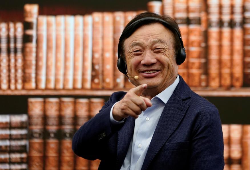El fundador de Huawei, Ren Zhengfei.