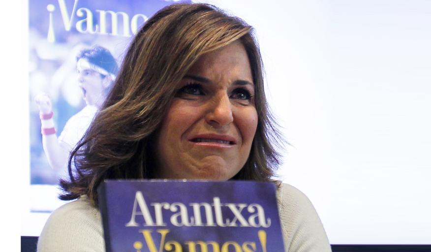 Arantxa Sanchez Vicario, durante la presentación de su nuevo libro.