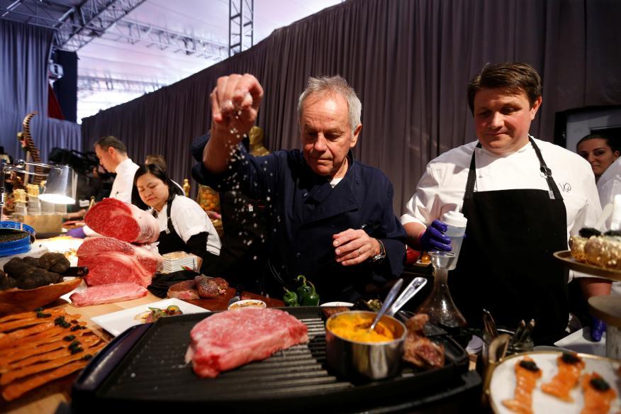 Cocinero, personas cocinando, chefs