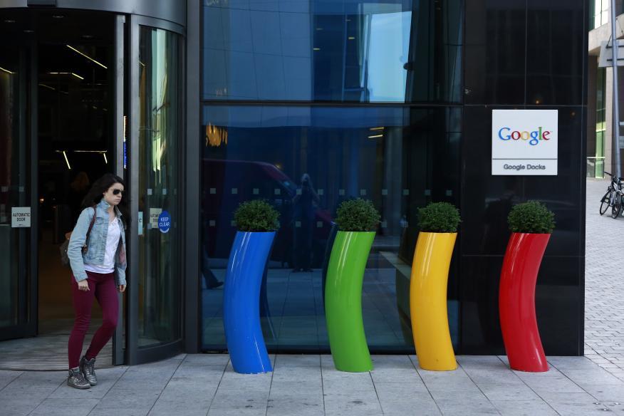 Las oficinas de Google en Dublín