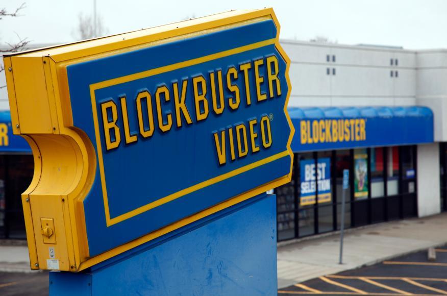 Un establecimiento de Blockbuster en Denver (Estados Unidos) en una fotografía de archivo.