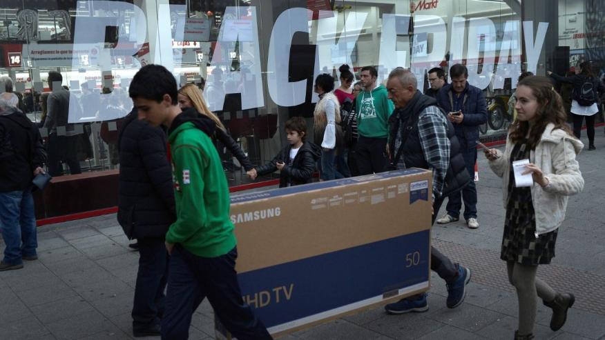 Compra durante las ofertas del Black Friday España