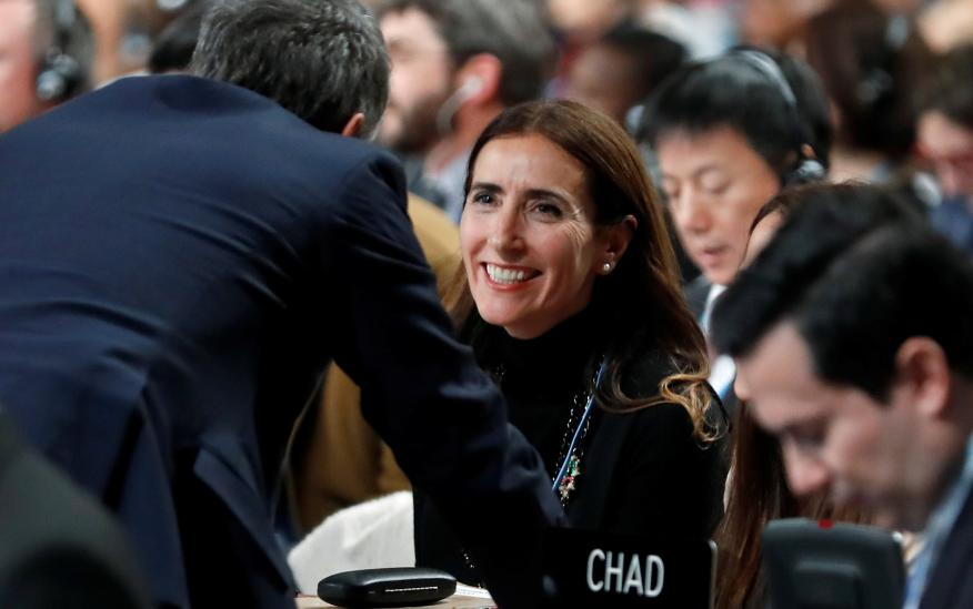 María Carolina Schmidt, ministra del Medio Ambiente de Chile