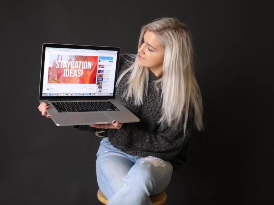 Shelby Church tiene 1.3 millones de suscriptores en YouTube.