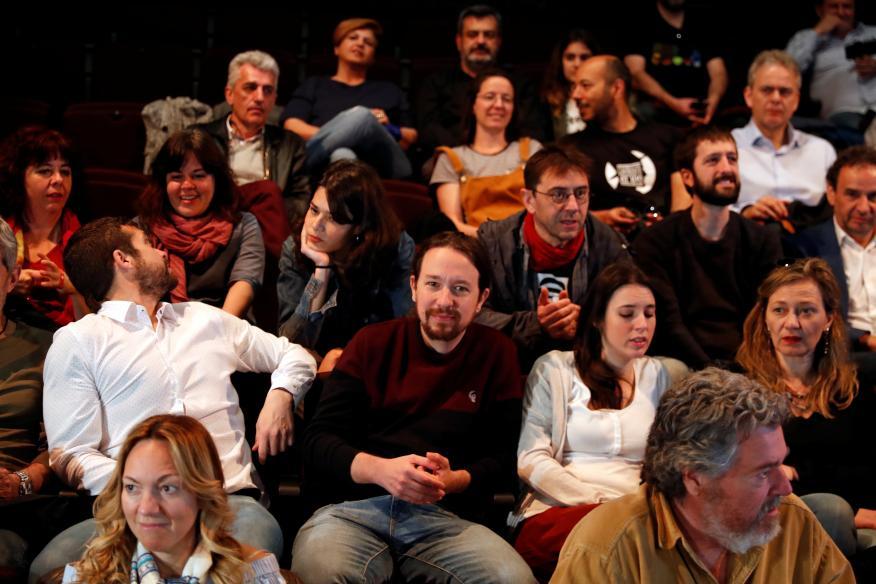 El equipo de campaña de Unidas Podemos
