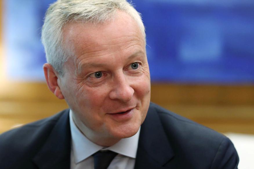 El ministro de Economía y Finanzas francés, Bruno Le Maire.