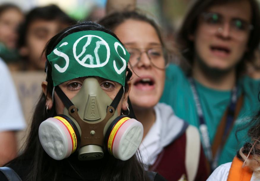 Una de las manifestaciones de Fridays For Future en Buenos Aires