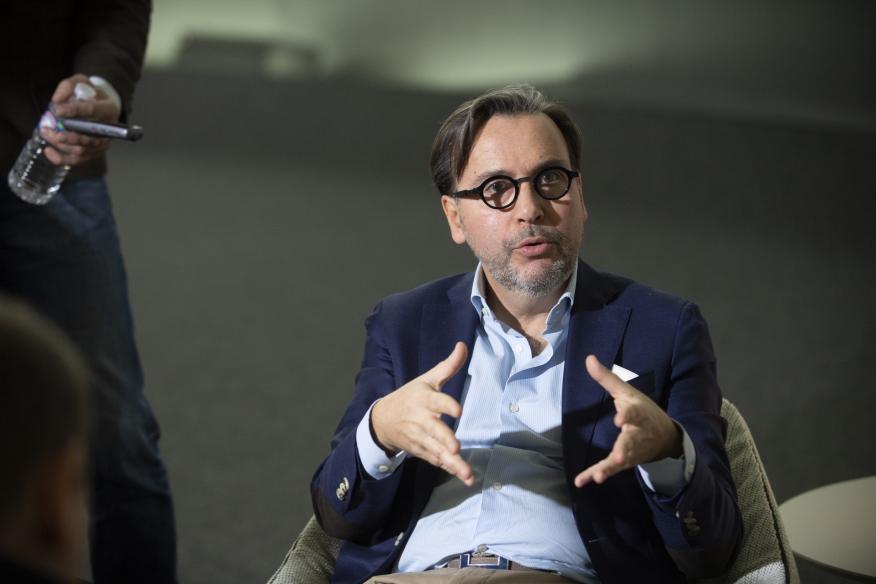 Arnaud Belloni, vicepresidente global de marketing y comunicación de Citroën