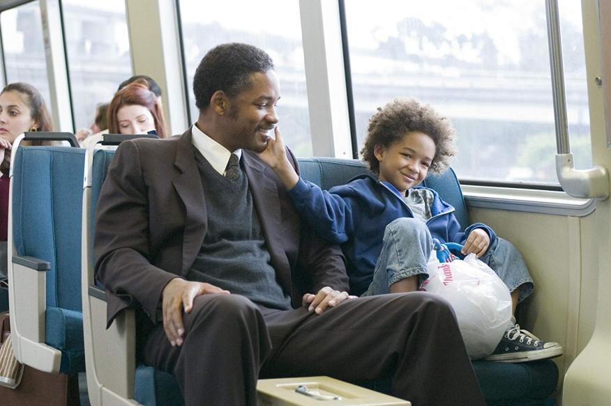 Fotograma de la película 'En busca de la felicidad'