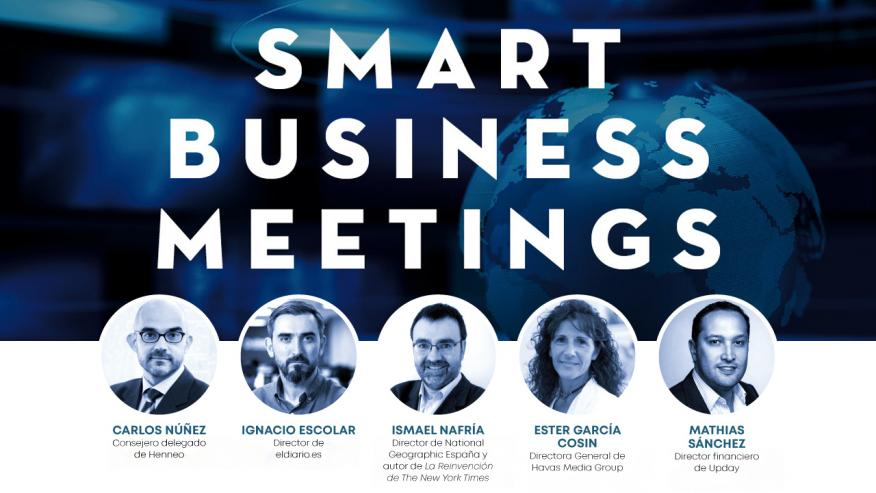Cartel VI Smart Business Meeting: Medios