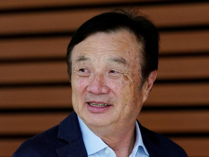 Ren Zhengfei, CEO de Huawei.