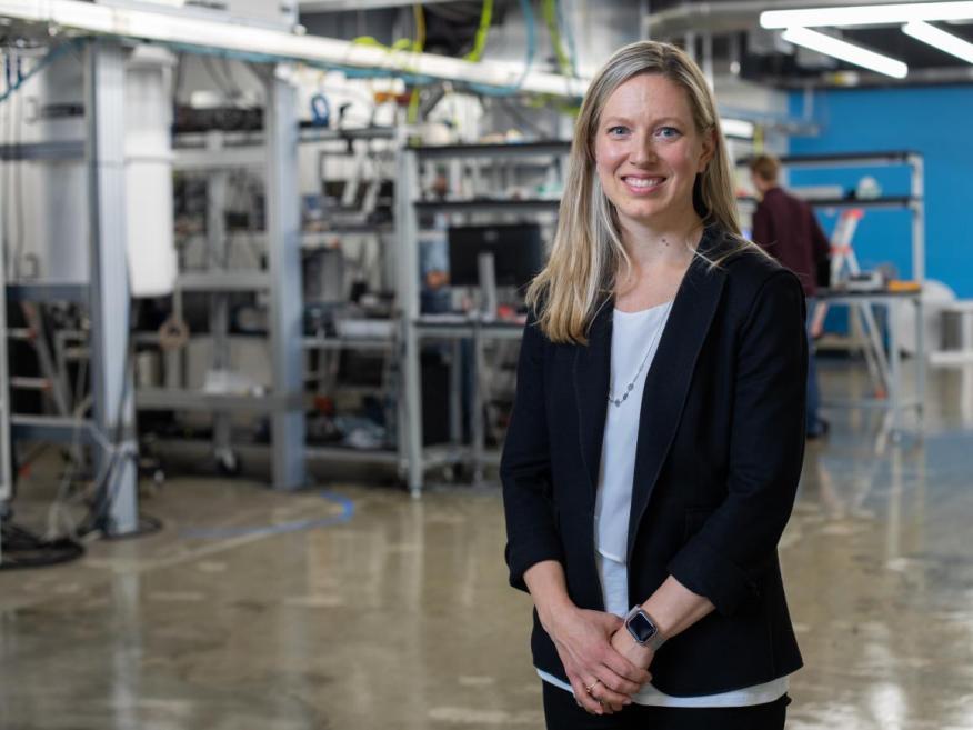 Julie Love, senior director of quantum business development, Microsoft