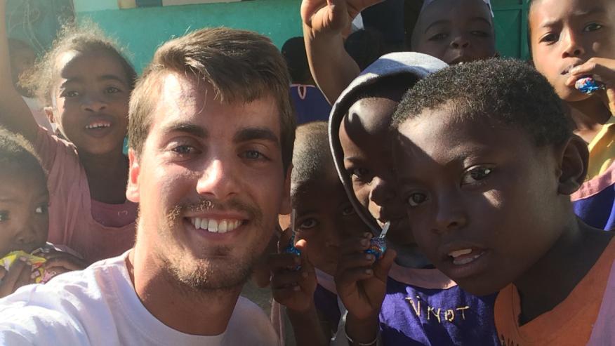 Misionero en Madagascar