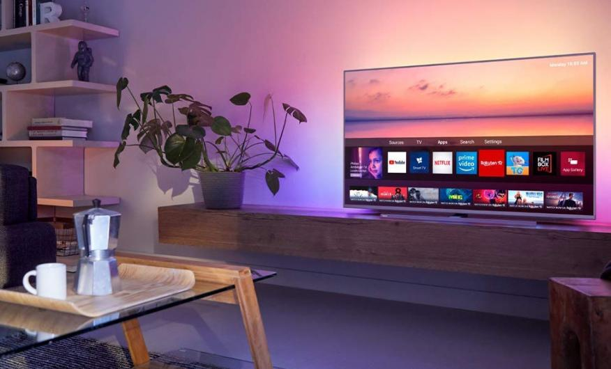 philips TV 55 pulgadas 4K