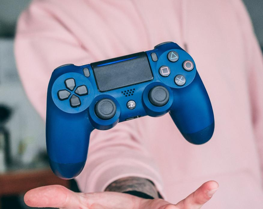 Sony DualShock 4 V2 en color azul