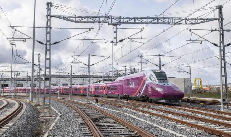 Nuevos trenes AVLO de Renfe.