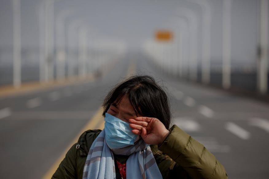 Calles de China sin coches.