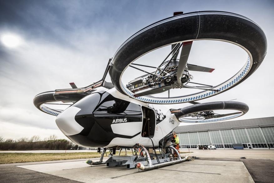 Una nave de Airbus.