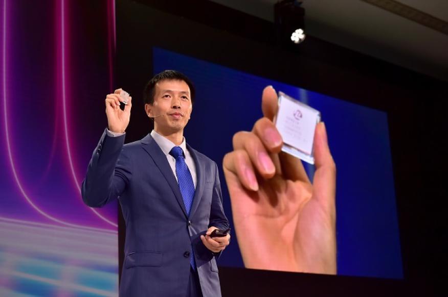 Presentación del nuevo chip de Huawei