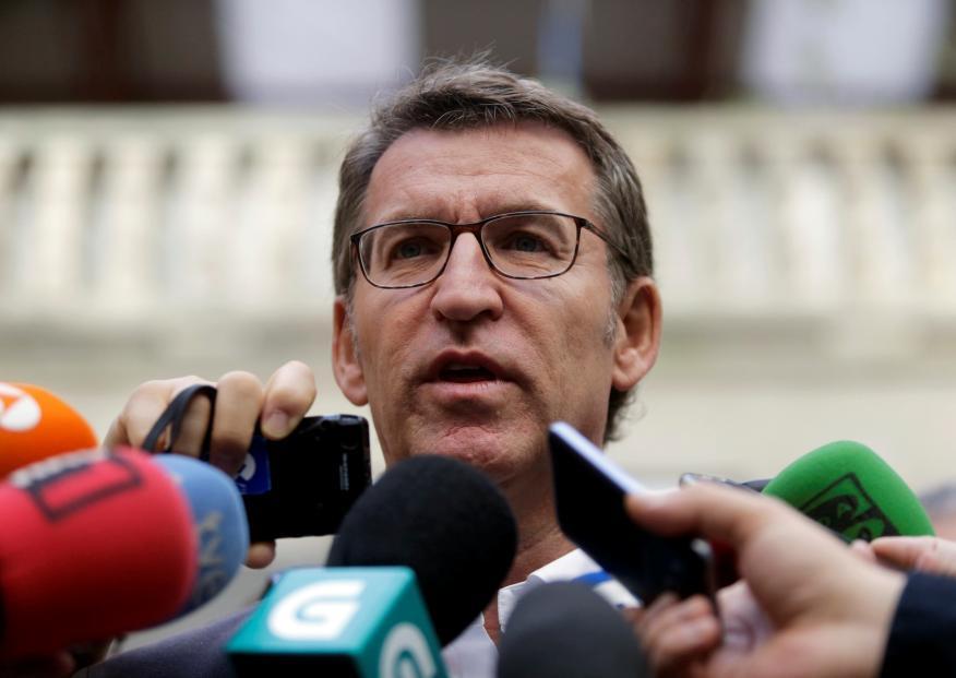Alberto Nuñez Feijoo, presidente de Galicia.