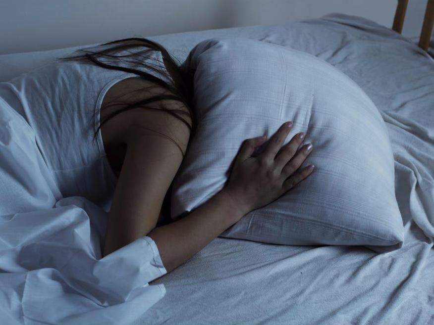 Anxiety inhibits sleep.