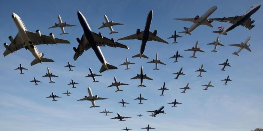 La demanda de los vuelos ha caído en todo el mundo por el miedo suscitado por el coronavirus.