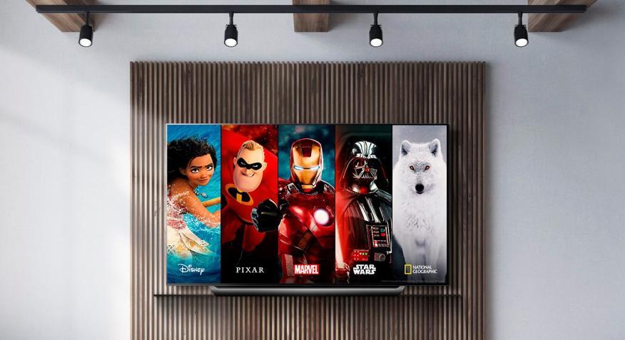 Disney Plus en un televisor LG