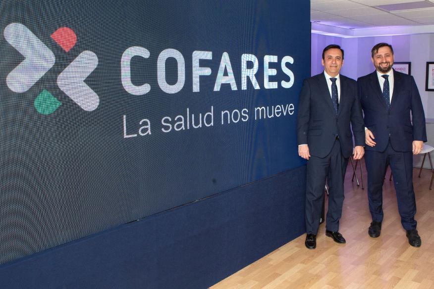Eduardo Pastor, presidente de Cofares, y José Luis Sanz, director general de Cofares.