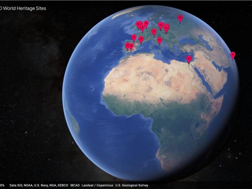 Google Earth.