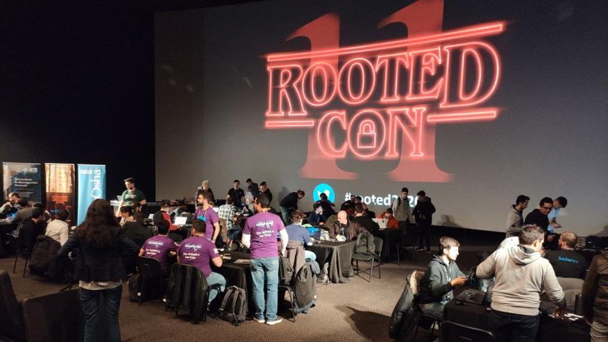Hacker Night en la RootedCON.