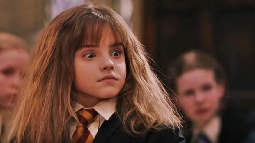 Harry Potter - Hermione sorprendida