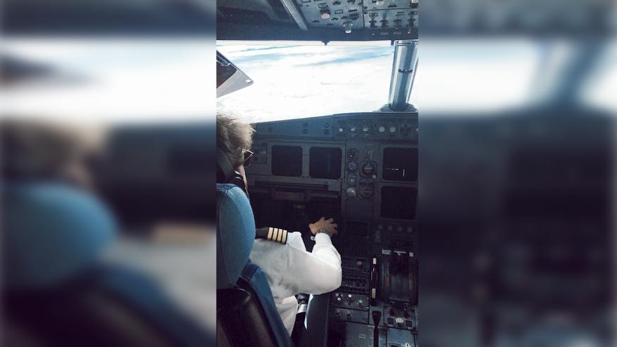El protagonista, durante un vuelo reciente.