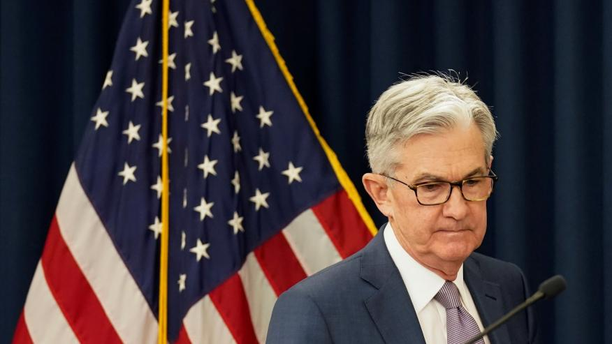 El presidente de la Fed, Jerome Powell.