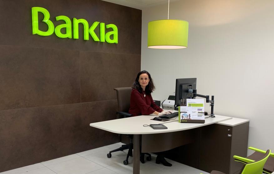 Sonia Hidalgo, directora de oficina de Bankia.