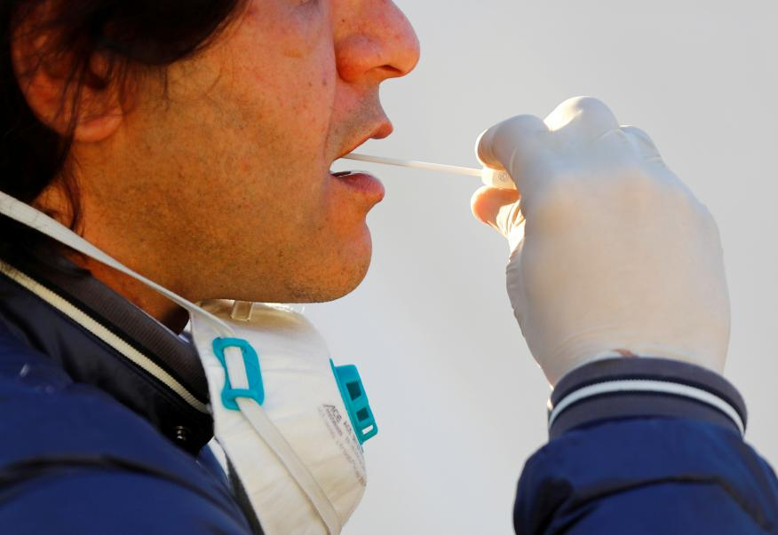 Test para detectar el coronavirus.