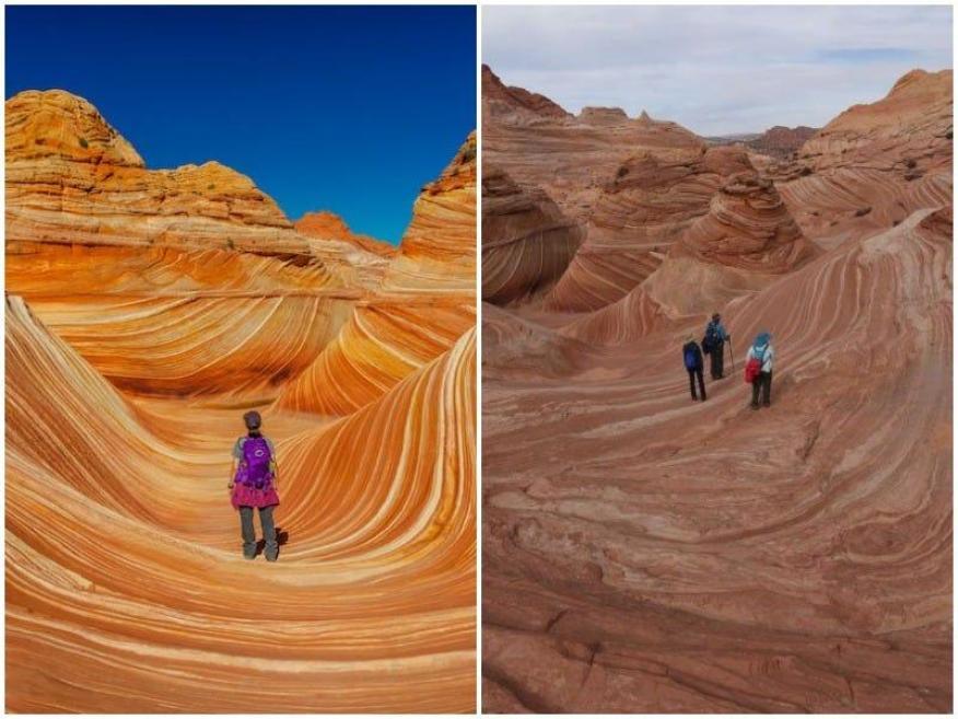 The Wave (Arizona): expectativa vs. realidad
