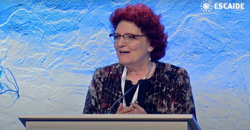 Andrea Ammon, directora del Centro Europeo para la Prevención y el Control de Enfermedades.