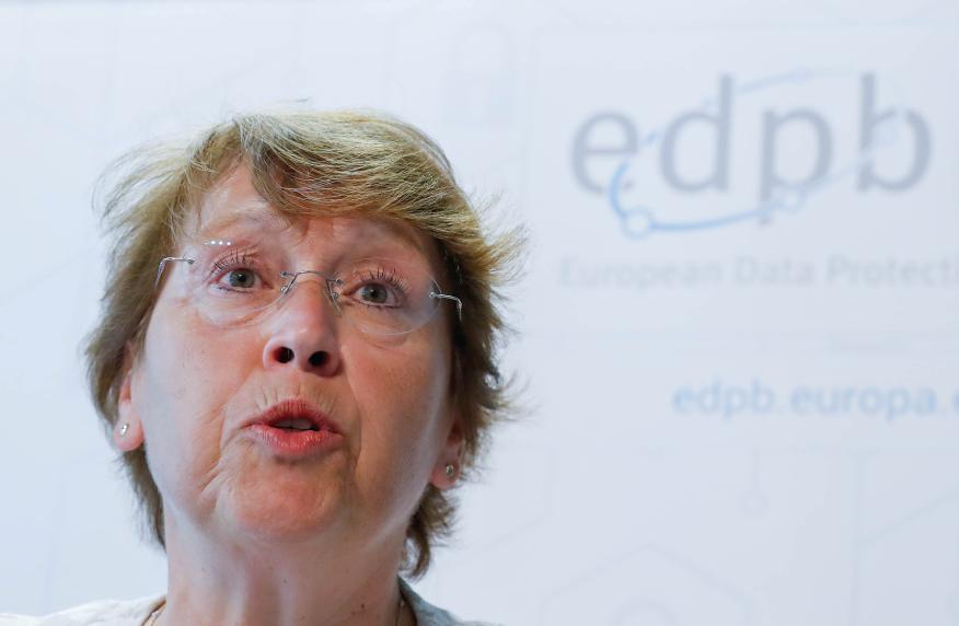 Andrea Jelinek, responsable del Comité Europe de Protección de Datos