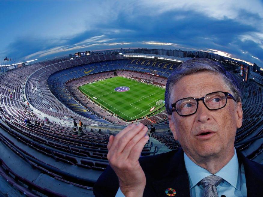 Bill Gates explica por qué la mayoría de los deportes van a desaparecer mucho más tiempo del que los aficionados se dan cuenta