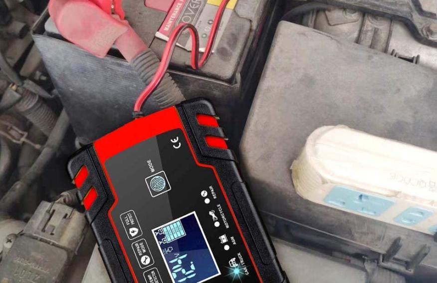 cargador batería coche