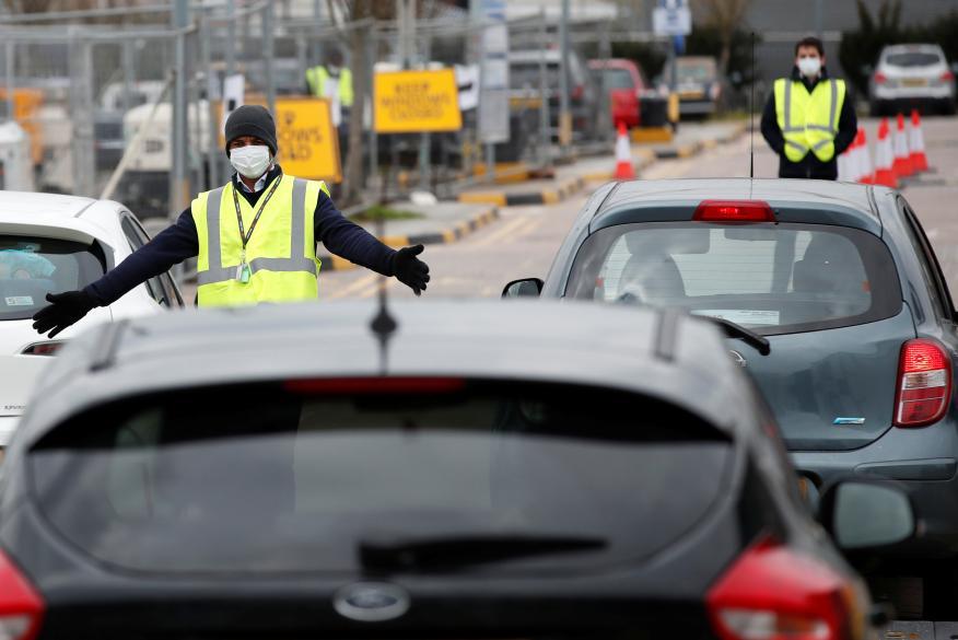 Control de carreteras.