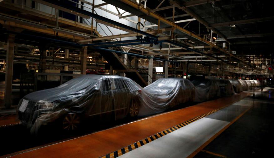 La fábrica de Volkswagen de Lisboa, paralizada por el coronavirus