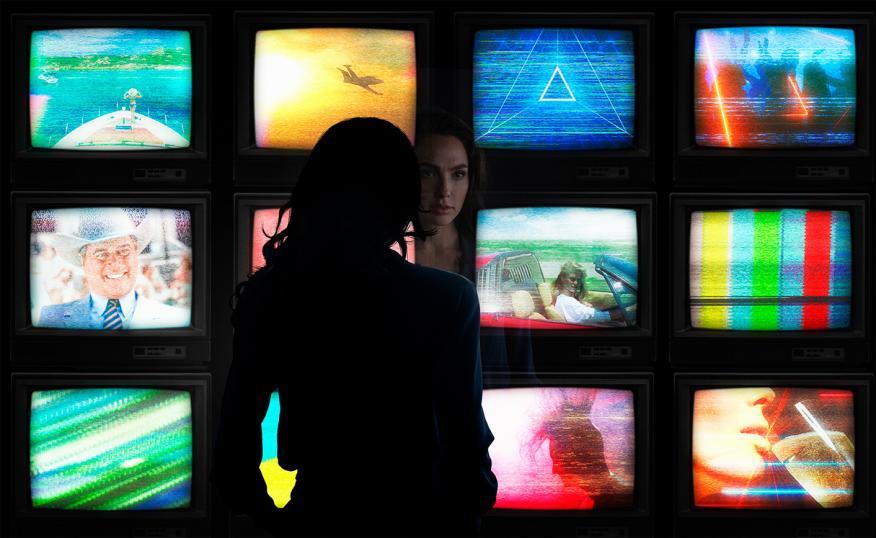 Gal Gadot en 'Wonder Woman 1984'.