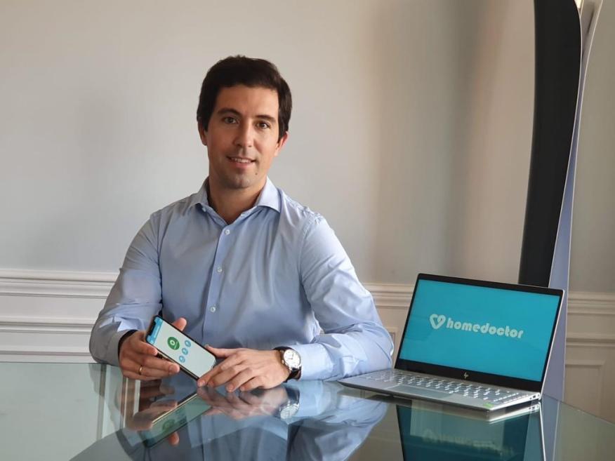 Juan Lariz, CEO de Homedoctor.
