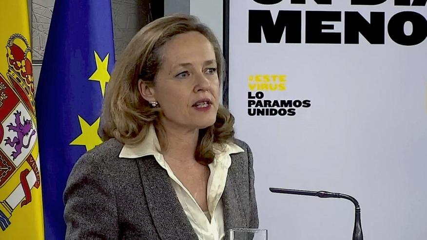 Nadia Calviño, vicepresidenta económica del Gobierno.