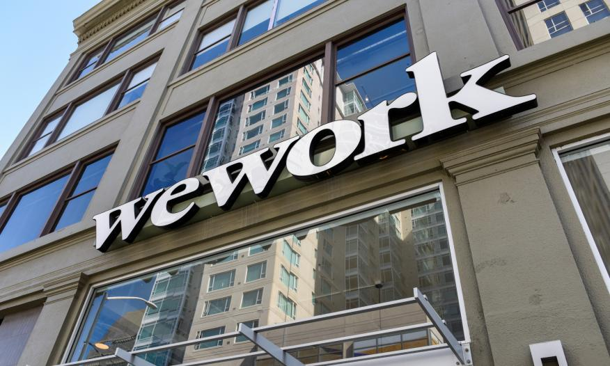 Oficinas de WeWork en San Francisco (EEUU)
