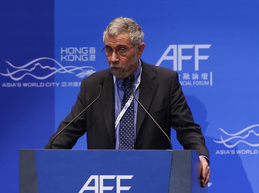 Paul Krugman, ganador del Premio Nobel de Economía.