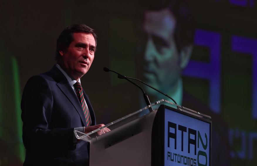 Antonio Garamendi, presidente de la patronal CEOE