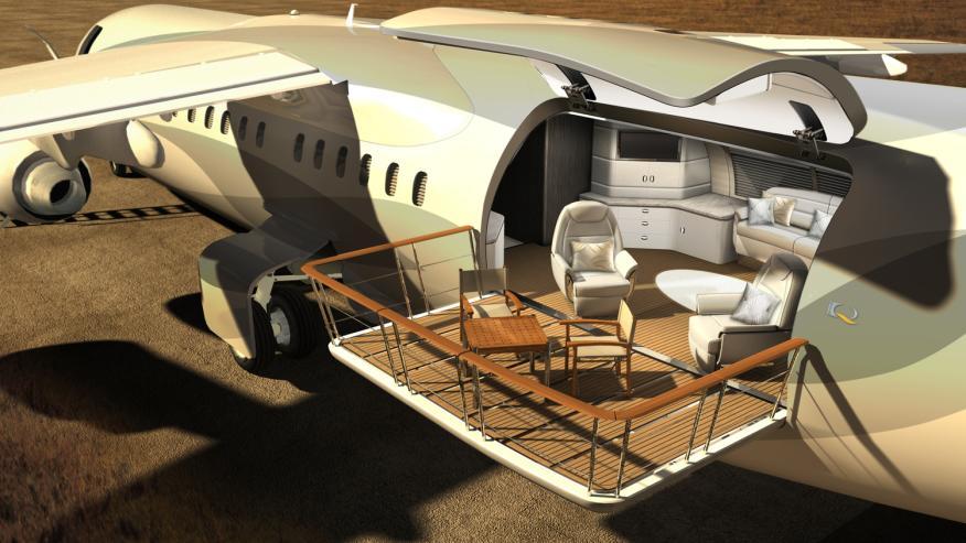avión caravana